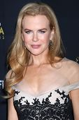 LOS ANGELES - JAN 27:  Nicole Kidman arrives at the AUSTRALIAN ACADEMY INTERNATIONAL AWARDS at Soho