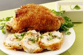 Stuffed Fried Chicken
