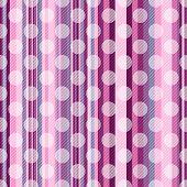 Seamless Striped Pink Pattern