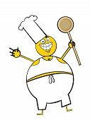 Cooking Fat Guy poster