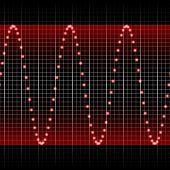 Red Sound Wave