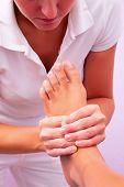 Physiotherapie Fußreflexzonenmassage
