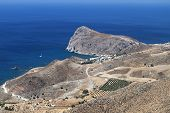 Lendas bay at Crete island, Greece