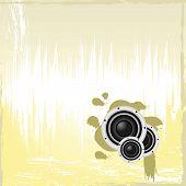 Vector Grunge Speaker Page Template
