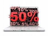 Laptop 50%