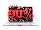Laptop 90 %