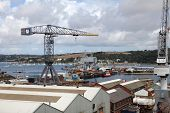 Falmouth Docks, Uk.
