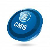 modern cms sign