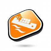 modern freighter sign