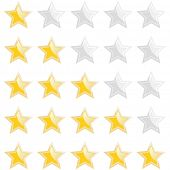 modern rating star