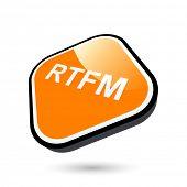 modern rtfm sign