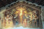 stock photo of minos  - A fresco depicting  - JPG