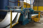 machine for slitting/cutting/stripping steel sheet