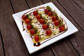 Tomatoes, Mozarella gourmet food