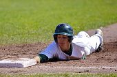 Canada Games Baseball Man Slide Base