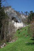 Predjama Grad In Slovenia