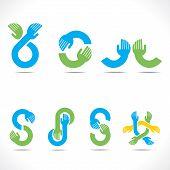 creative hand icons