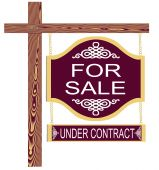 Fancy For Sale Sign Undercontract