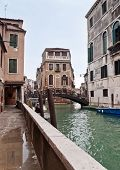 Castello Canal View In Venice