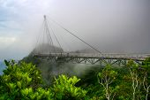 stock photo of langkawi  - Bridge at Langkawi viewpoint  - JPG