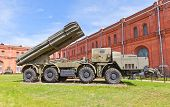 Soviet Heavy Rocket Launcher System 9A52 Smerch