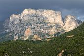 Astraka peak at Pindos mountains, Greece