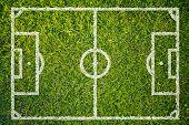 Football Or Soccer Field