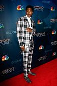 NEW YORK-JUL 30: TV host Nick Cannon attends the 'America's Got Talent' post show red carpet at Radio City Music Hall on July 30, 2014 in New York City.