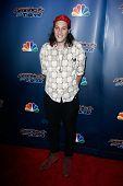 NEW YORK-JUL 30: Comedian Darik Santos attends the 'America's Got Talent' post show red carpet at Ra
