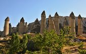 Stone Columns In Gorcelid Valley