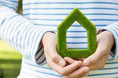 green house icon concept