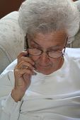 Senior Citizen And Cell Phone