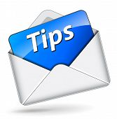 Vector Tips Envelope