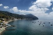 View Of Maronti Beach In Ischia Island