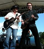 Donnie Van Zant and Don Barnes of 38 Special Preforming at Celebrate Fairfax, June 2006, Fairfax, Va