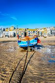 Fishing Boat At St Ives