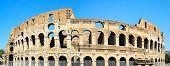 Famous Coliseum In Rome
