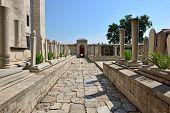 Islamic Old Gravestone In A Cemetery