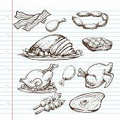 Meat Doodle