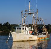 Maine Fishing Trawler