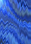 Convex zigzag shape in the blue and gray shades