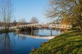 Wooden Bridge Reflected