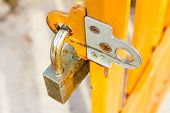 Padlock With Steel Doors