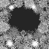 Hand-drawn flower pattern