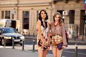 Two Women Fashion Street
