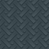 Dark gray perforated paper with cut out effect. Vector EPS10. See others in a Perforated Paper Set.