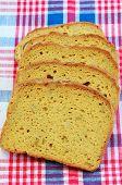 Gluten Free Sunflower Seed Bread