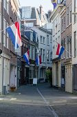 Dutch Flags Line City Street