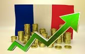 currency appreciation - France economy