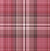 Geometric Gingham Pattern In Red And Brown